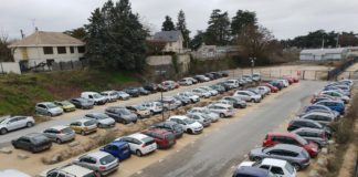 Parking gare Blois